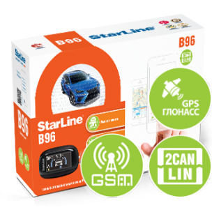 Купить StarLine B96 BT 2CAN+2LIN GSM-GPS в Москве